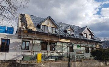 Penzión Demänová - kompletná rekonštrukcia strechy